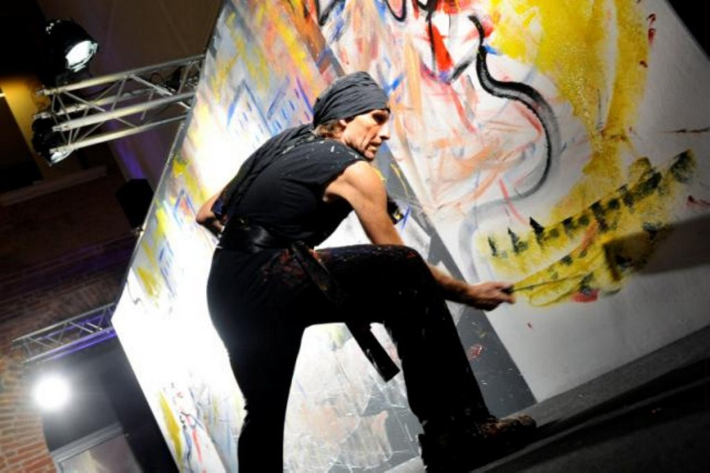 Henri Ibara – Peintre-Dessinateur-Performer