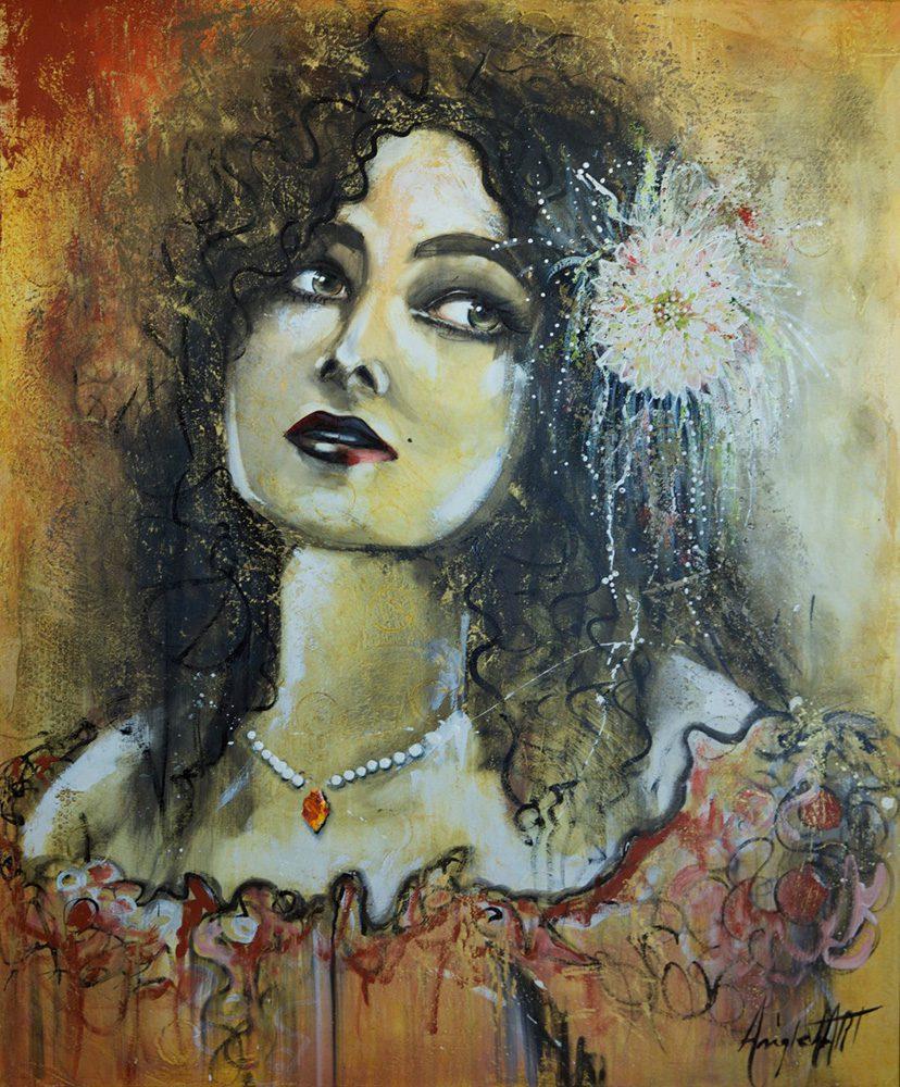 Nadine Anglehart – Artiste peintre