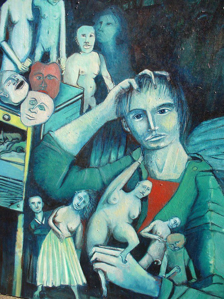Sereno Pegoraro – Artiste peintre