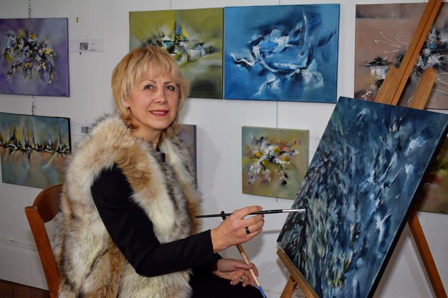 Natacha POPOVA – Artiste Peintre