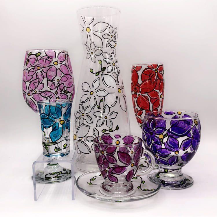 Julie Battesti – Peintre sur verre