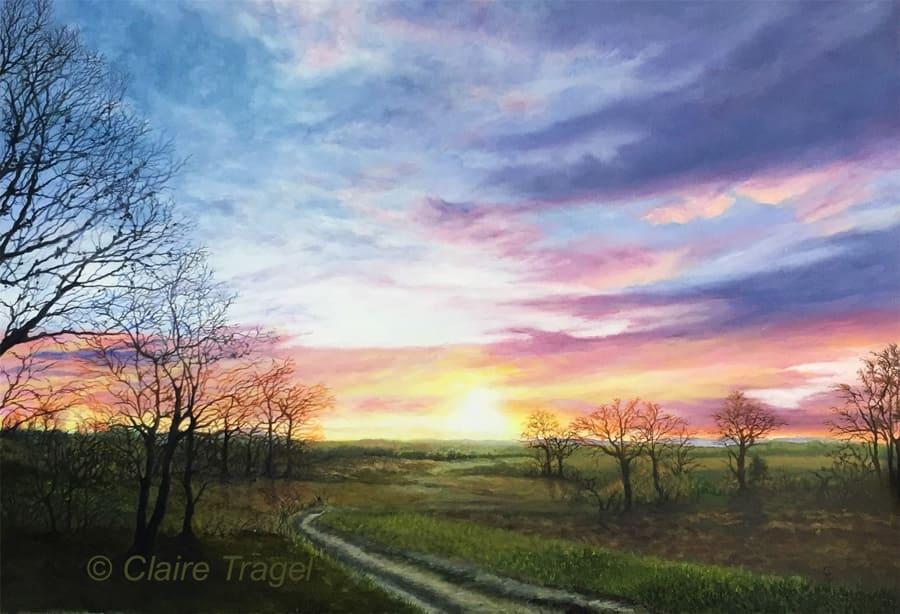 Claire TRAGEL – Artiste peintre