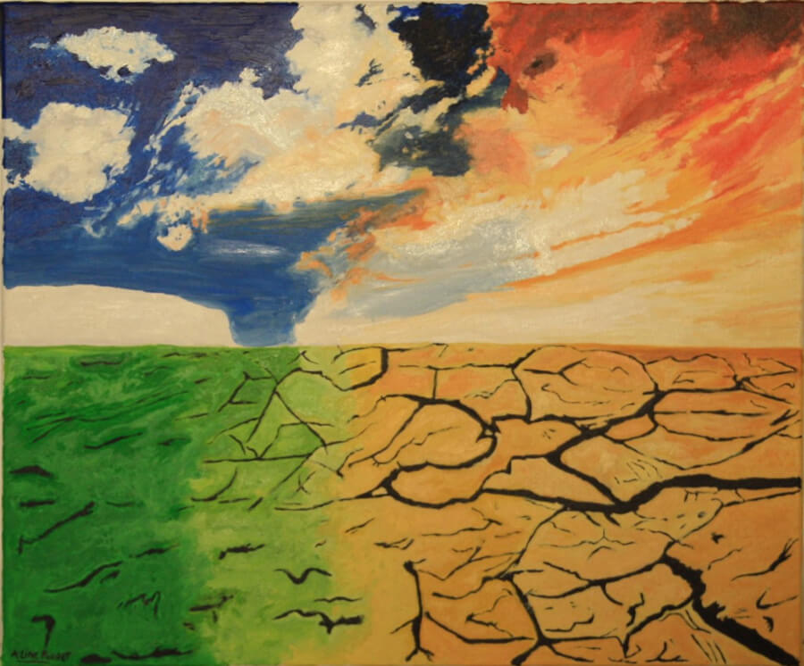 ALINE POUGET – Artiste peintre