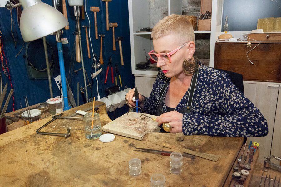 Marie-Paule THUAUD – Créatrice de bijoux