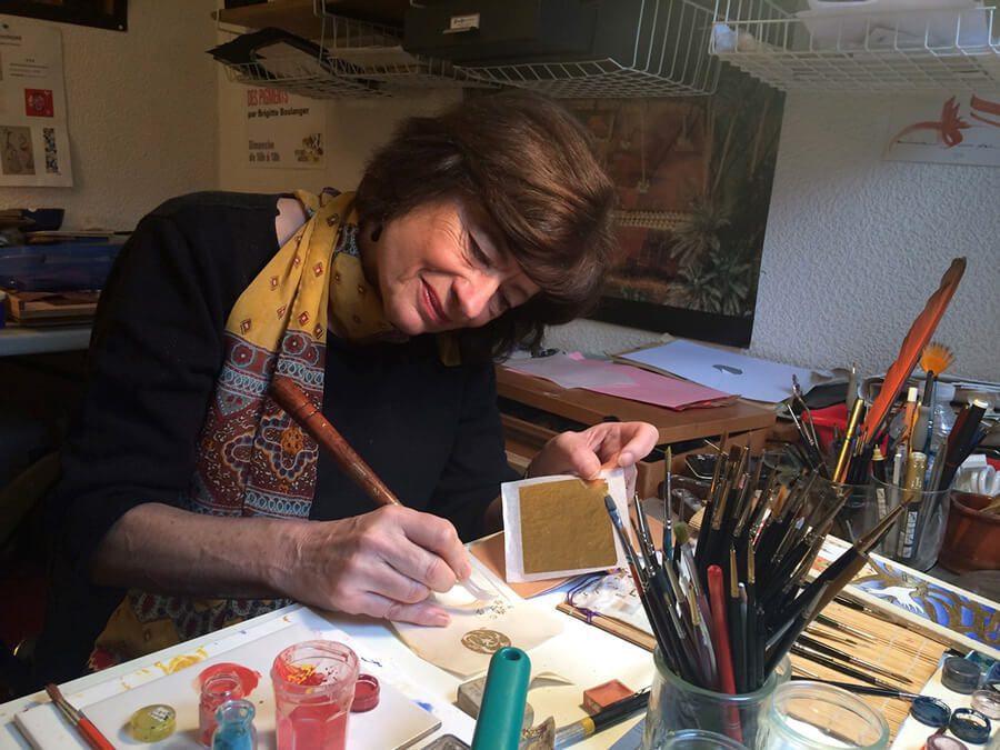 Brigitte Boulanger – Peintre-Enlumineur
