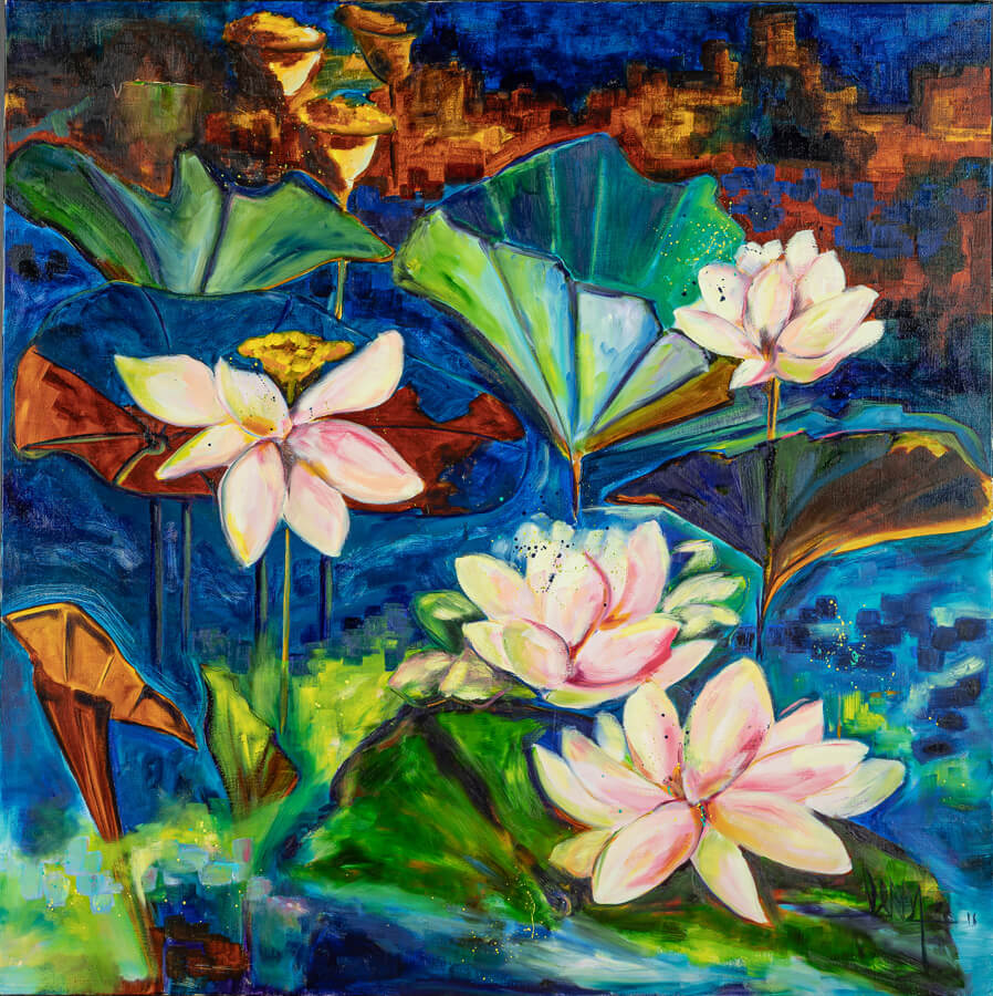 Marie-Pascale LERDA – Artiste peintre