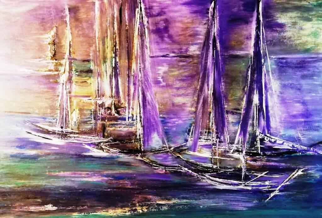 Murielle TOURREL  – Artiste peintre