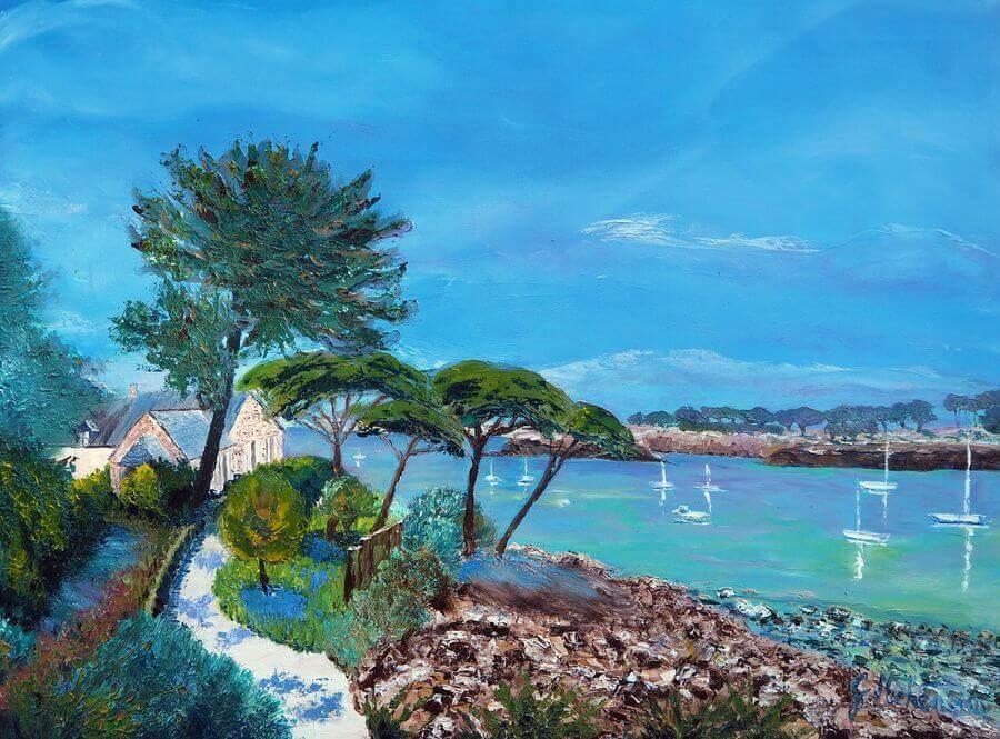 Gyslaine Pachet Micheneau – Artiste peintre
