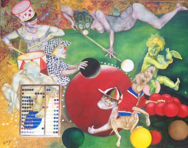 Claude Avias – Artiste peintre