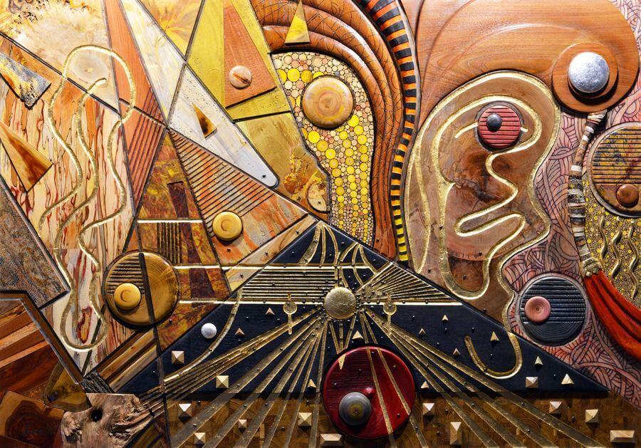 pyramides, volutes et autres insectes
