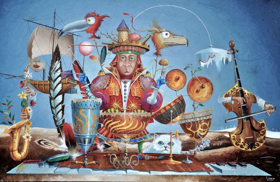 Michel Michaux – Artiste peintre