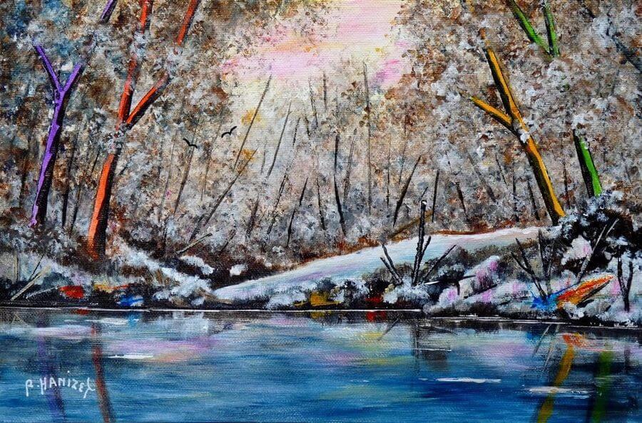 Raymond Hanizet – Artiste peintre