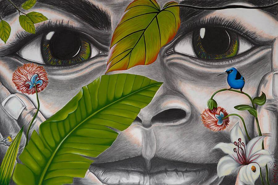Chrice MAYOUMA – Artiste peintre