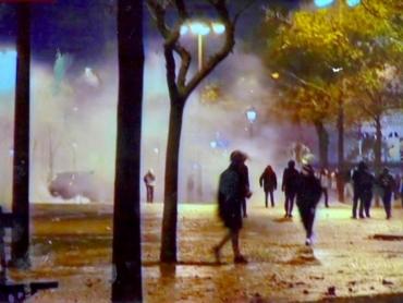 Promeneur du soir 65x54