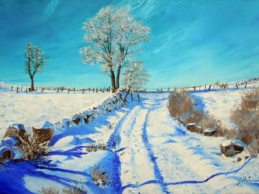 H388 Paysage de neige 20M 10088
